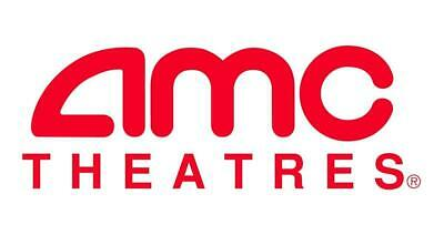 AMC Theater Movie 2 BLACK TICKETS 2 Large Drinks 2 Large Popcorn E-DELIVERY