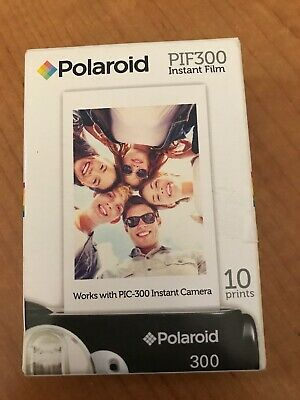 POLAROID PIF300 Instant Film - 10 Prints - Best By 2018-11