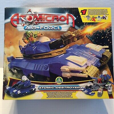 ATOMICRON Atomic Destroyer Tank Toy fits Diaclone