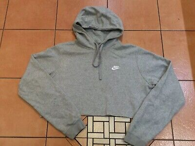 Casual Grey 'Cut Off' Jumper (NIKE), Size L