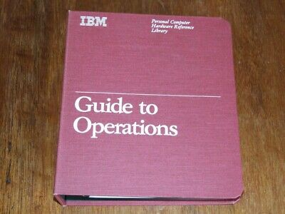 IBM Guide to Operations for Portable Personal Computer 5155 inc Diagnostics disk