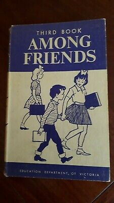 Vintage Education Department Of Victoria Reader Third Book Among Friends