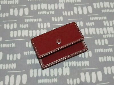 COACH Red Card Wallet