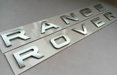 "LAND RANGE ROVER /'SPORT HSE SCV6/"" BADGE LOGO EMBLEM DECAL OEM RED"