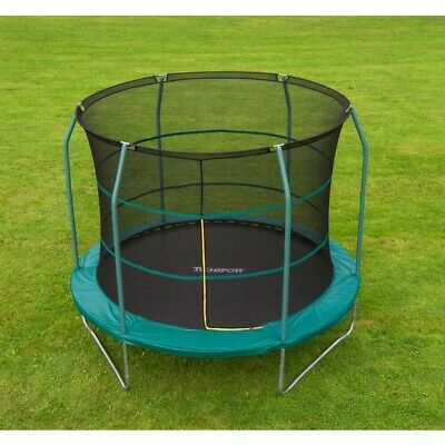 10ft Trampoline with Safety Net. Includes tie down kit - new. Smyth's toys