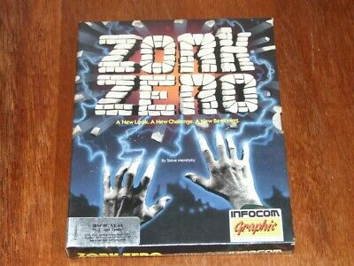 Zork Zero game program on 3.5in and 5.25in disk for vintage PC by Infocom
