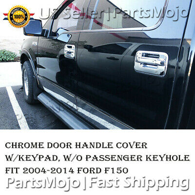Door Handle For 2004-10 2011 2012 2013 2014 Ford F-150 Front Right Outer Chrome