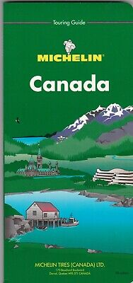 Canada Michelin Touring Guide Includes Maps 252 Pages