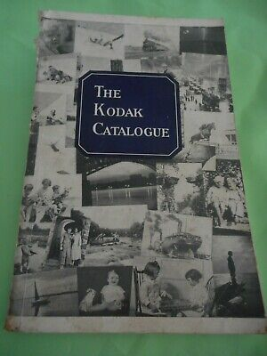 Orig Kodak Catalogue 160 page book details all products Cameras, developing etc