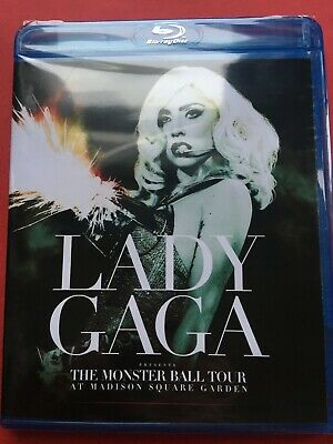 Lady Gaga The Monster Ball Tour At Madison Square Garden (NEW Blu-ray disc)