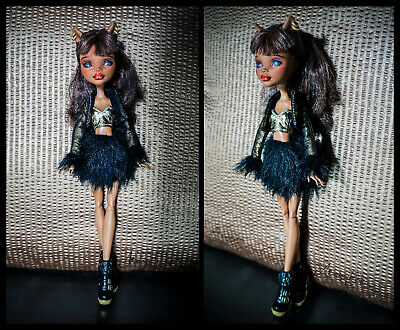 OOAK MH Clawdeen Wolf - Repaint & Restyle