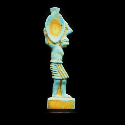 Rare Ancient Egyptian Faience Amulet Figurine...VERY RARE