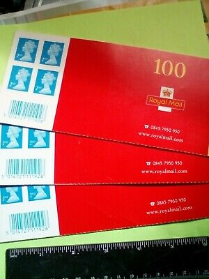 100 Royal Mail 2nd Class Stamps