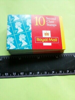 10 Royal Mail 2nd Class Stamps