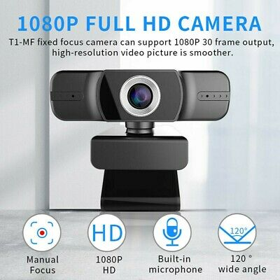 Full HD 1080P Web Cam PC Video Calling Webcam Camera with Microphone Desktop