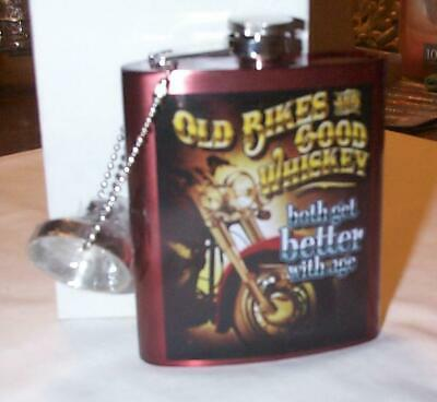 Spoontiques 15661 Here for a Good Time Flask Silver