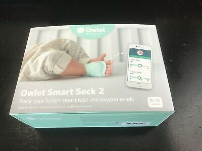 Owlet Smart Sock 2 Baby Monitor - Preowned
