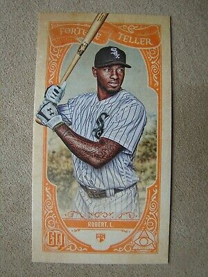 LUIS ROBERT 2020 Topps Gypsy Queen RC Mini Orange Fortune Teller Card