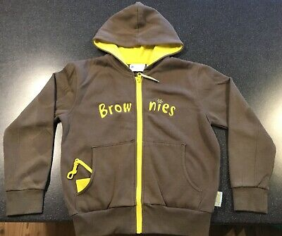 Official Girls Brownies Hoodie Size 28