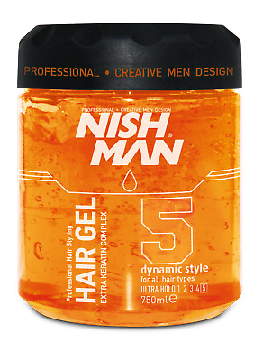 NISHMAN Styling Gel 750ml / Ultra Hold