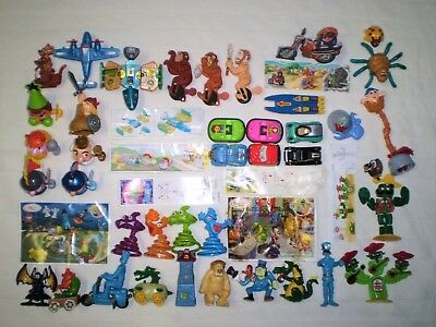all papers Set of 28 pcs NEW different  Kinder Surprise Toys 2016-2019