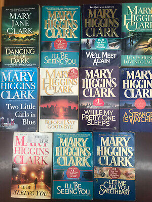 11 Mary Higgins Cark Random Mixed Lot Paper Back Books Mystery Thriller Mix
