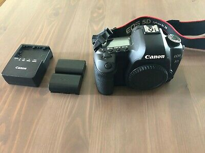 Used Canon EOS 5D Mark II 21.1MP Digital SLR Camera body only great condition!