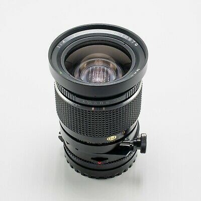MAMIYA SEKOR SHIFT C 50mm F/4 Lens for 645 series from Japan