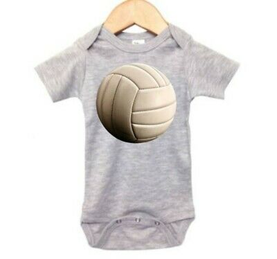VOLLEYBALL, CUTE, Volleyball LOVE, SPORTS, BABY BODYSUIT, INFANT WEAR