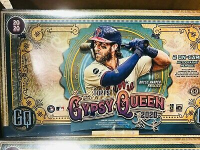 2020 Topps GYPSY QUEEN Baseball FACTORY SEALED HOBBY BOX - 2 ON-CARD AUTOS