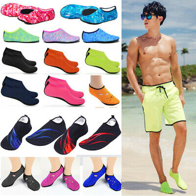 Mens Womens Aqua Socks Beach Swim Barefoot Water Skin Shoes Surf Ski Yoga Gym