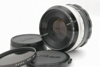 Exc++ Nikon Nikkor P 105mm f/4 f 4 Bellows Lens *920656