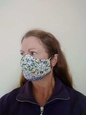 Face Mask with filter pocket - solid & printed - men and women sizes