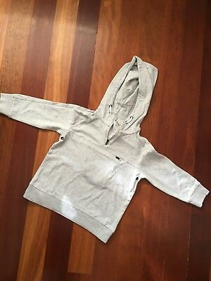 Boys Whichery Grey Hoodie Size 4
