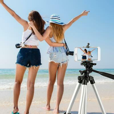 Tripod Stand Camera Cell Phone Mount Holder Portable Professional Adjustable