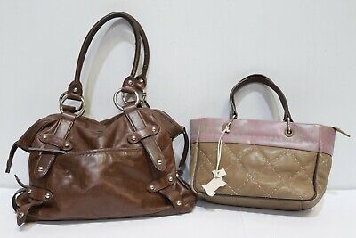 Job Lot Designer Handbags 1 x RADLEY + 1 x Tula Brown Leather - 214
