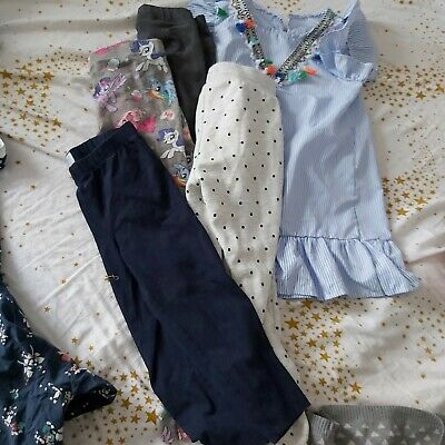 Girl 6 Years And Above Trousers Leggins  Bundle H&m Gap And More