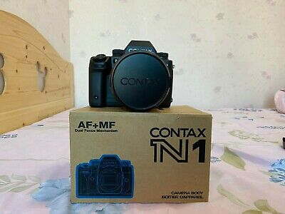 [MINT] CONTAX N1 35mm AF SLR Film Camera w/ Lens and accessories