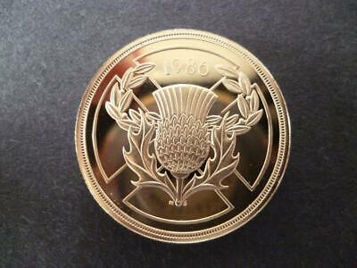 1986 Proof £2 Coin Housed In A New Capsule, 1986 Proof Two Pound Coin Shown Sent
