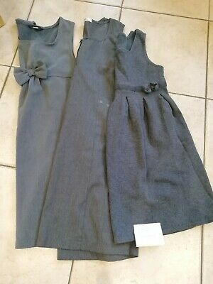 Girls School Uniform Pinafore Age 9-10 years