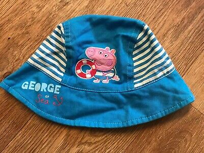 Boys George Pig Sun Hat, Peppa Pig From Mini Club