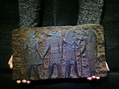 EGYPTIAN ANTIQUES ANTIQUITY Bearing Gifts for Isis Stela Stele 1213-1279 BC