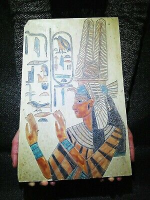 EGYPTIAN ANTIQUES ANTIQUITY Queen Nefertari Stela Stele Stelae 1298-1235 BC