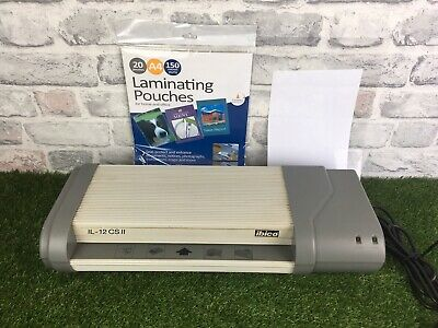 Ibico Laminator Seal Protect And Enhance Commercial Laminator With 19 Pouches