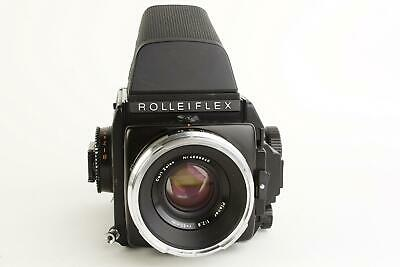 Rollei Rolleiflex SL66E camera with Carl Zeiss Planar 80mm 1:2.8 lens