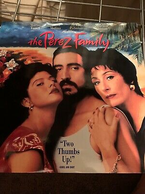 "The Perez Family -  12"" Laserdisc"