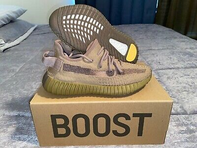 """Yeezy Boost 350 V2 """"Earth"""" Fx9033 Size 5 (Women's 6.5) 100% Authentic"""