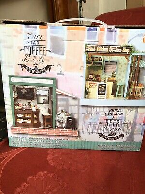 DIY Handcraft Miniature Project Kit The Star Coffee Bar