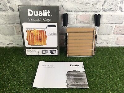 Genuine DUALIT  2 X Sandwich Cages  For Use With Architect & Lite Toasters