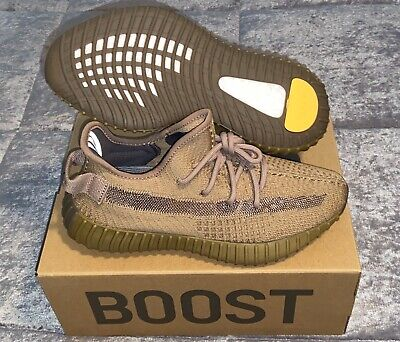 """Yeezy Boost 350 V2 """"Earth"""" Fx9033 Size 6 (Women's 7.5) 100% Authentic"""